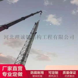 10米煙囪塔火炬塔 專用固定煙囪塔生產廠家