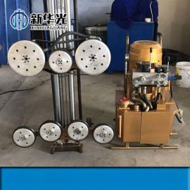 揭阳全自动绳锯切割机18.5KW电动绳锯机