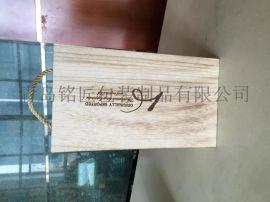 【工厂定做】青岛高档木制酒盒 木盒酒盒 红酒木盒现货