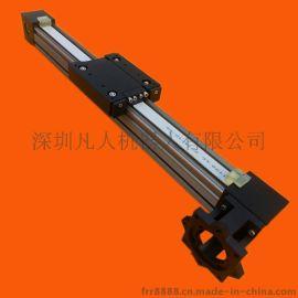 激光机导轨组件 线性滑块模组 同步带数控铝型材喷漆工作台