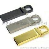 金属虎扣u盘定制,足量8g,16g,32g礼品u盘,金属材质礼品u盘 创意USB 防水u盘