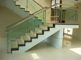 供应天津玻璃不锈钢楼梯扶手