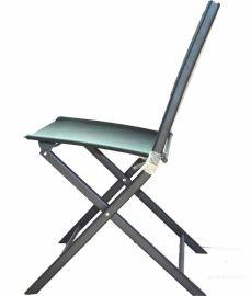 伯顺S5008 高档餐桌椅 户外便携折叠休闲座椅 半公学习自驾野营轻便钢管椅 餐厅咖啡厅配套轻便椅 沙滩阳台椅