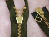 8号YKK金属双开双拉拉链 92-94cm 军绿色 高档男士外套专用