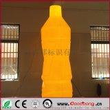 矿泉水瓶子吸塑灯箱 三维立体灯箱 可移动透光灯箱 工厂定制 质保五年