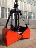 0.3立方 輕型 X3單繩抓鬥 滑輪直徑150 配2t起重機抓鬥