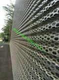 河北昊豐特製奧迪4s店外牆板-鋁板衝孔網-表面陽極氧化處理