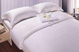 郑州宾馆床上用的床单被套厂家,   宾馆床上用品