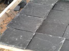 供应金磊石材黑石英火烧板,黑石英大板厂家直销