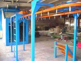 惠州吊空喷涂输送线 吊具挂具喷涂生产线 悬挂链流水线