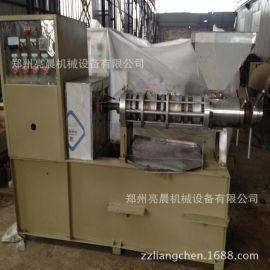 冷热两用全自动螺旋榨油机 小型商用食用油加工设备 液压榨油机