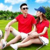 定做廣告衫夏季男式Polo衫高爾夫珠地翻領衫可定制刺繡企業LOGO
