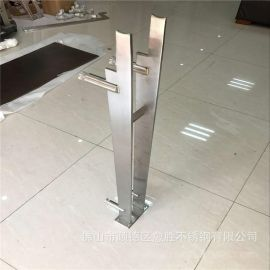 呼和浩特整板激光成型不锈钢工程立柱 工程316工装立柱