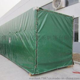 猪场卷帘-养殖场帆布卷帘-PVC涂塑布
