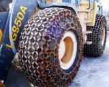 統威30裝載機防滑鏈,17.5-25輪胎保護鏈