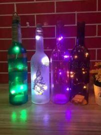 玻璃工艺品 加工玻璃制品 酒瓶加工