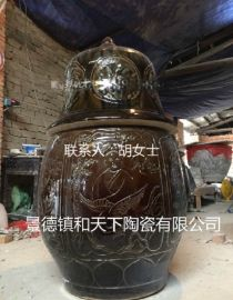 陶瓷坐化缸生产厂家 高僧圆寂缸 不腐金身缸