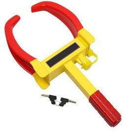 包邮汽车锁轻巧便捷小车轮锁小夹锁