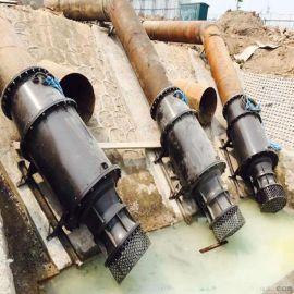 雪橇式轴流泵-东坡污水潜水轴流泵