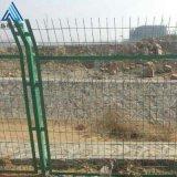铁路线路专用框架防护栅栏_带框护栏网