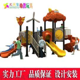 广西南宁幼儿园室外组合滑梯 南宁幼儿园滑滑梯厂家