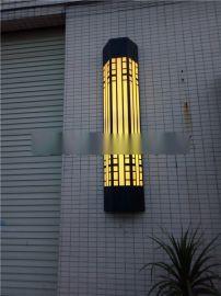 Q235型号钢管壁灯 不锈钢防水户外壁灯 森隆堡灯饰厂家生产 仿云石壁灯
