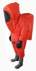 烧碱氢氧化钠防火防护服(半封闭消防化学一级防毒服)