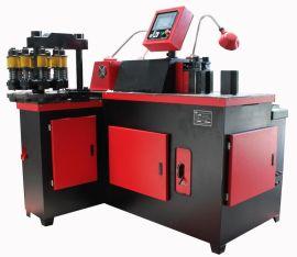 SSL303S 三工位十冲孔模位数控两点式液压母线加工机