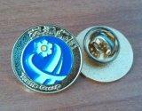 昆明徽章制作单价云南高档企业logo订制金属胸针厂家