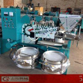 螺旋榨油机商用 大中小型 全自动榨油设备 大豆菜籽花生榨油机