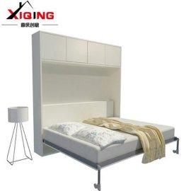 书房定制隐形床壁柜床侧翻折叠床多功能家具五金配件全套