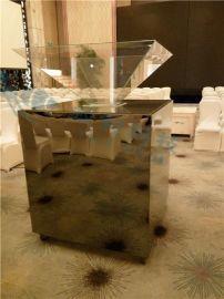全息金字塔 360度正立全息展示柜 四面幻影成像玻璃展示柜 3D展柜