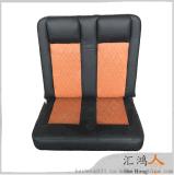 房车商务座椅隐形头枕放平当床定制双人折叠带阻尼平放双人床,HS-B3-2