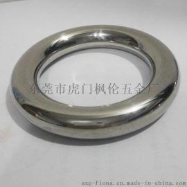 加工空心不锈钢圆环 装饰工艺圆环