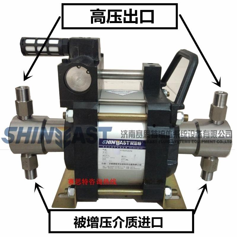 煤礦用液壓支架自動充壓泵 無電機防爆氣動液壓泵