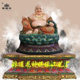 弥勒佛佛像1.6米,四大护法、哼哈二将、三宝佛、