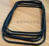多功能硅胶密封圈,黑色防滑密封圈,专业生产密封圈厂家,长方形硅胶密封圈