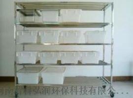 大鼠笼架 四层不锈钢材质