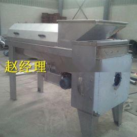 定做不锈钢葡萄除梗破碎机 果蔬螺旋榨汁机