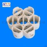 组合填料 江西能强七巧带筋环 高效规整陶瓷组合填料