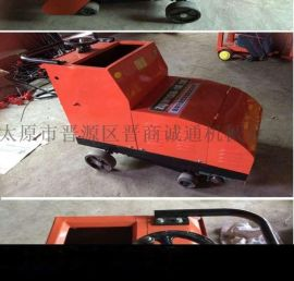 甘肃武威市水泥地面切缝机道路施工防滑刻纹机厂家发货