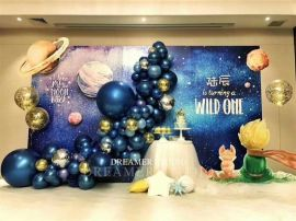 昆明花語花香氣球商場活動氣球布場氣球裝飾