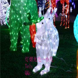 廠家定製滴膠動物燈 3D小松鼠造型燈 公園裝飾燈