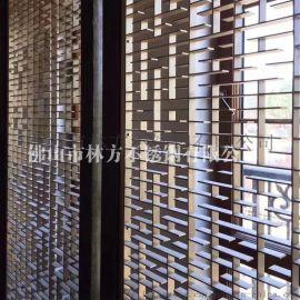 东莞 厂家供应304不锈钢屏风隔断 缕空酒店屏风