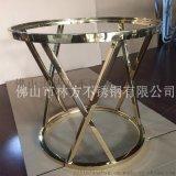 不锈钢茶几脚架 不锈钢桌台 经典茶几脚架定做