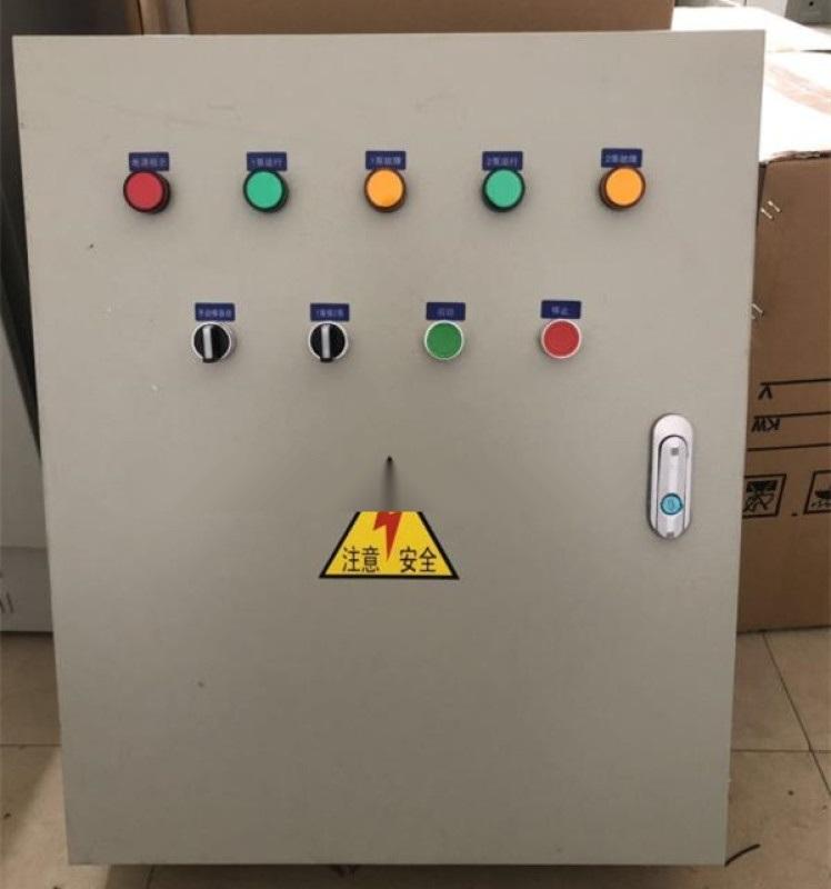污水泵控制箱18.5kw一用一备一控二直接启动柜