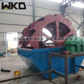 河南供应制砂机 轮式洗砂机 整套洗沙设备报价