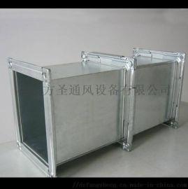 热镀锌共板 角钢法兰白铁通风管道工厂直销
