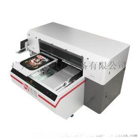 双工位T恤印花机,高速白墨直喷印花机