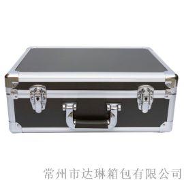 厂家推荐黑手铝合金手提箱